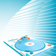 Turntable — Stock Vector #26661409