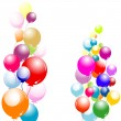 Stock Vector: Balloons
