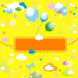 Royalty-Free Stock Vector Image: Background for kids
