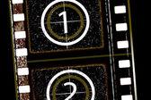 Bande de film texturé — Vecteur