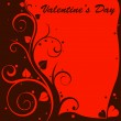Vector de stock : Valentine design card