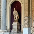 Stock Photo: Sculptures in Vaticmuseum.