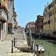 Venetian canal and houses. — Stock Photo