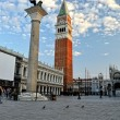 St. Mark's, square in Venice. — Stock Photo