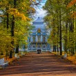 The Hermitage pavilion in Catherine park in Pushkin — Stock Photo