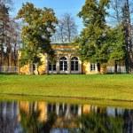 """paisagem com pavilhão """"salão à noite"""" em Pushkin — Foto Stock #32120549"""