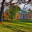 """Landscape with """"Concert Hall"""" pavilion in Pushkin. — Foto Stock #32121085"""