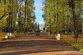 Die eremitage-pavillon im park der catherine im puschkin — Stockfoto