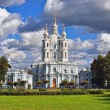 St. Nicholas Cathedral in Saint-Petersburg, Russia. — Stock Photo #36427873