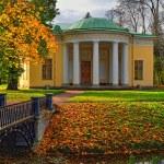"""paisagem com pavilhão """"concert hall"""" em pushkin — Foto Stock #36427947"""