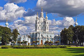 St. Nicholas Cathedral in Saint-Petersburg, Russia. — Stock Photo
