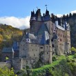 Stock Photo: Medieval castle Eltz, located on mountain in Germany