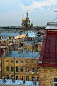 View to the Church Savior on Blood in St-Petersburg, Russia. — Stock Photo