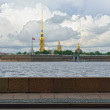 Fortness of St. Peter and Pavel and river Nevin St-Petersburg, — Stock Photo #38588453