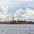 Fortness of St. Peter and Pavel and river Nevin St-Petersburg, — Stock Photo #38588463