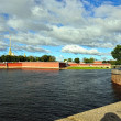 Fortness of St. Peter and Pavel and river Nevin St-Petersburg, — Stock Photo #38588473