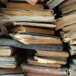 Pile of old books — Foto Stock