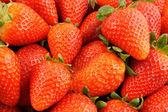 Fresh strawberries background — Стоковое фото