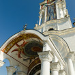 Stock Photo: Temple-Lighthouse St. Nicholas of Myrin village Malorechen
