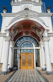 Entrance to the Temple-Lighthouse St. Nicholas of Myra in the vi — Stock Photo