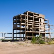 Abandoned unfinished building — Stock Photo #48717047