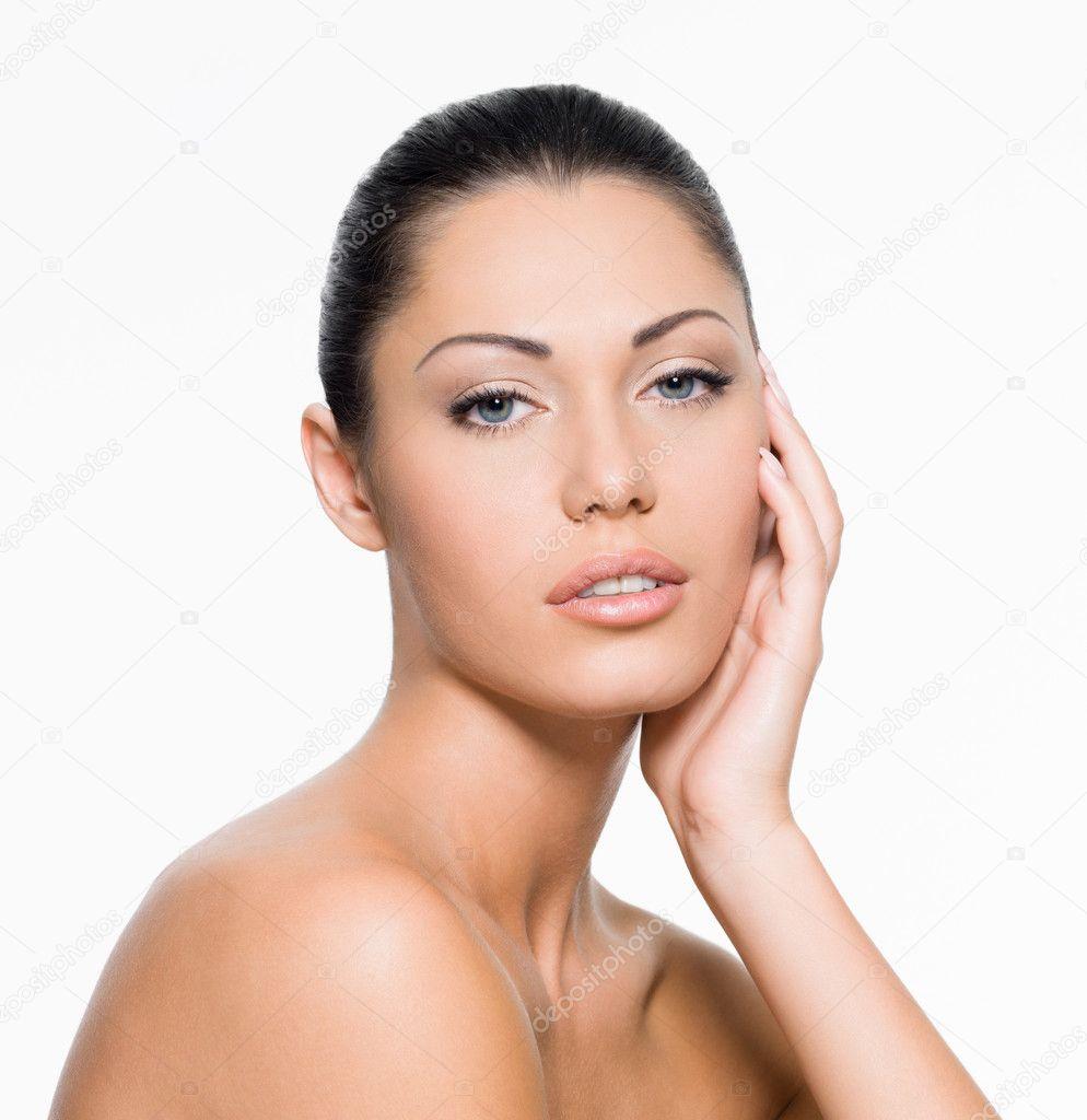 Perfect Female Face Stock Photo Valuavitaly 14084929