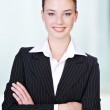 Cute business woman. — Stock Photo #1461600