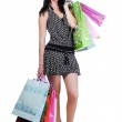 Woman with shopping bags — Stock Photo #1463452