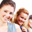 Beautiful female students — Stock Photo #1478420