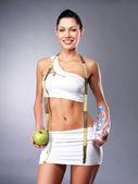 здоровый образ жизни счастливые женщины — Стоковое фото