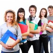 Smiling students — Stock Photo