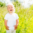 Child crying is on the nature — Stock Photo #32078035