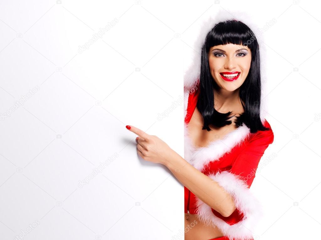 Фото красивых девушек в костюме снегурочки 9 фотография