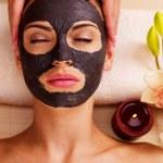 Cosmetologist doing massage — Stock Photo