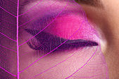 Female eye with makeup — ストック写真