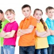 Group of children with crossed arms. — Stock Photo #43175205