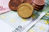 Money euro — Stock Photo