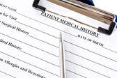Medical history — Stock Photo