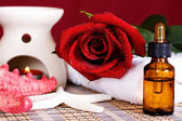 Olio termale aromatico — Foto Stock