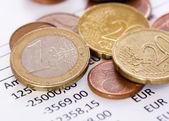 Financial Coins — Stock Photo