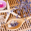 Stock Photo: Aromatherapy - lavender oil
