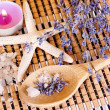 Aromatherapy - lavender oil — Stock Photo #27581507
