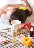 Aroma massage — Stock Photo