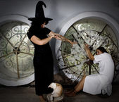 Witchcraft and magic — Stock Photo