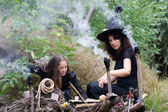 Witches conjure — Stock Photo