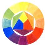 Watercolor paints coloristics — Stock Photo