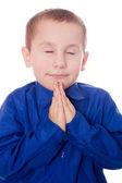 Dua eden çocuk — Stok fotoğraf