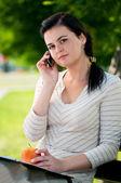 молодой бизнес женщина — Стоковое фото