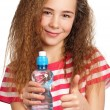 Stock Photo: Girl with water