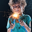 Little electrician — Stock Photo #12112915
